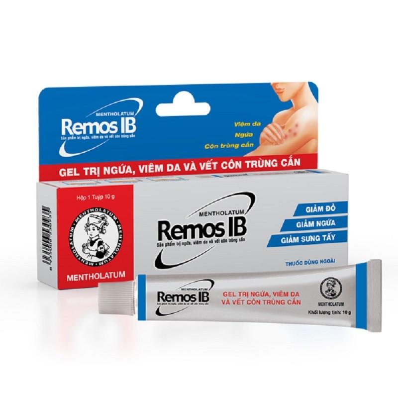Thuốc bôi côn trùng cắn Remos giảm nhanh các