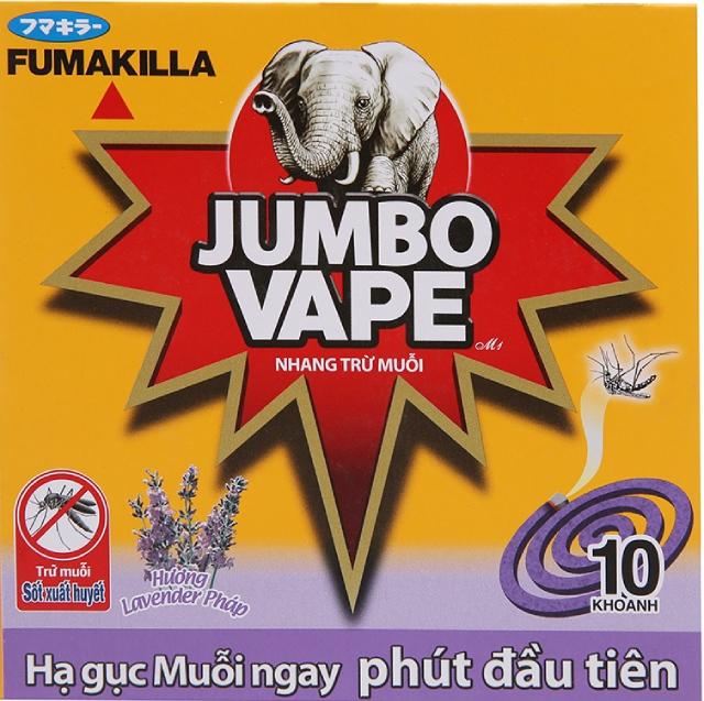 Nhang muỗi Jumbo Vape