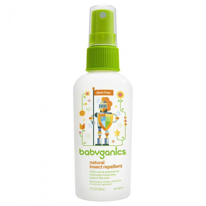 Thuốc chống muỗi Babyganics