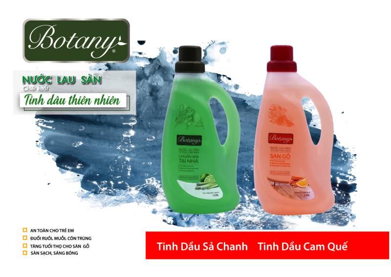 Nước lau sàn Botany với tinh dầu quế thiên nhiên mang đến hiệu quả chống muỗi cao
