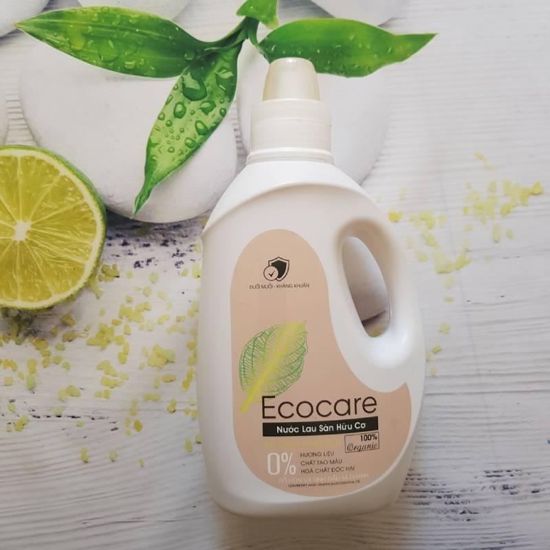 Nước lau sàn chống muỗi hữu cơ Ecocare an toàn tuyệt đối cho người sử dụng