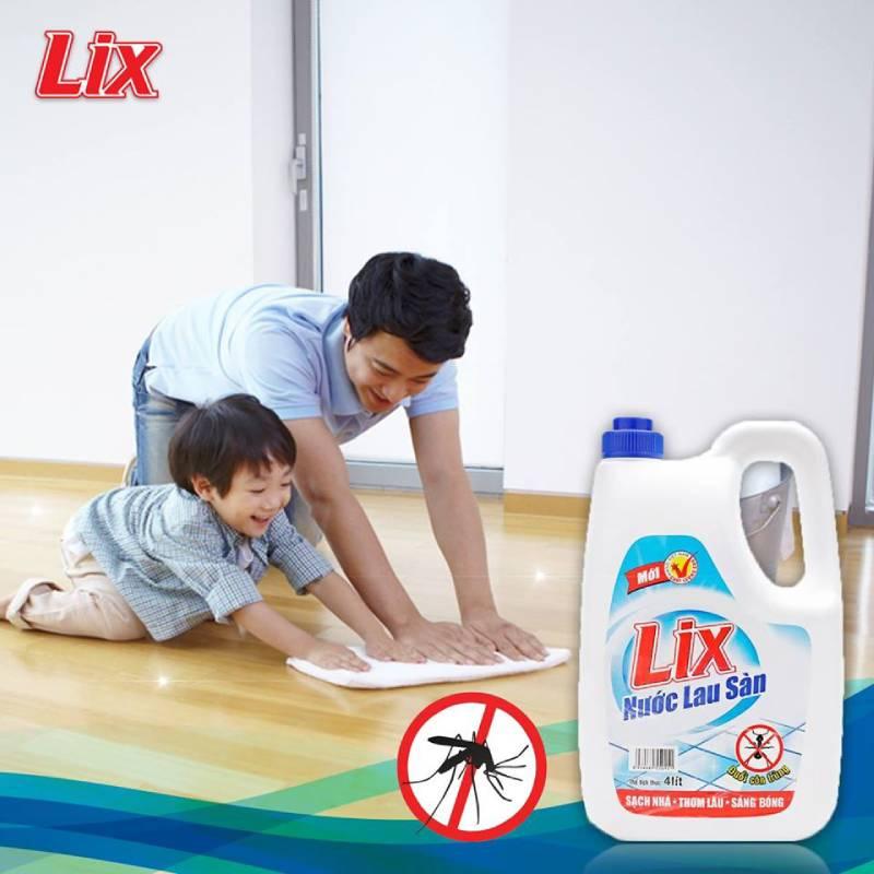 Nước lau sàn chống muỗi Lix mang đến hiệu quả bất ngờ ngay lần sử dụng đầu tiên