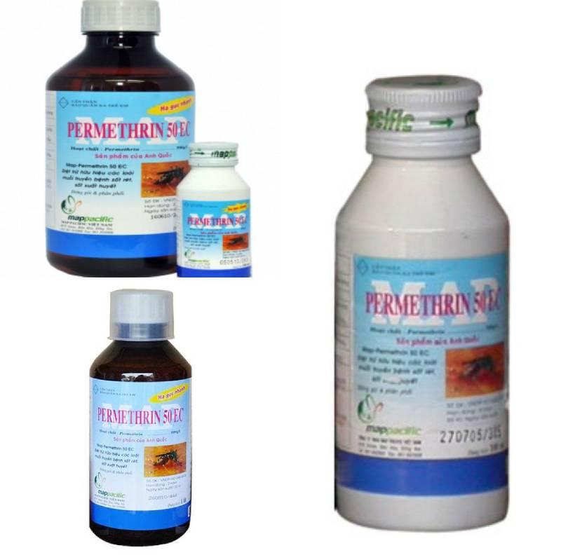 Các loại thuốc có gốc Pyrethrin được chứng nhận an toàn cho người sử dụng