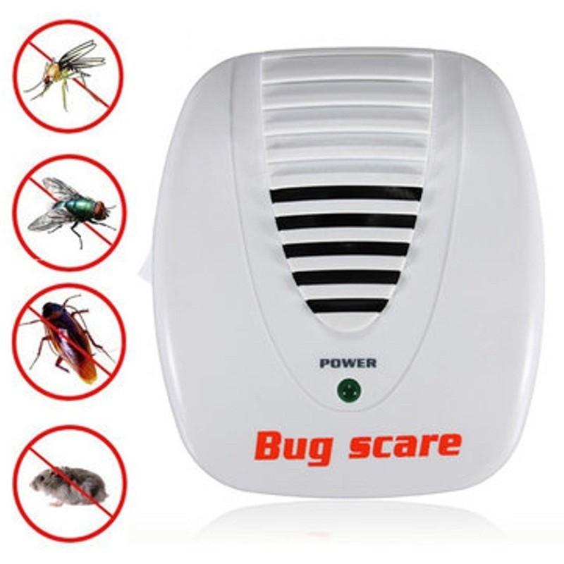 Máy đuổi côn trùng Bug Scare hiệu quả sau 1 – 2 tuần sử dụng