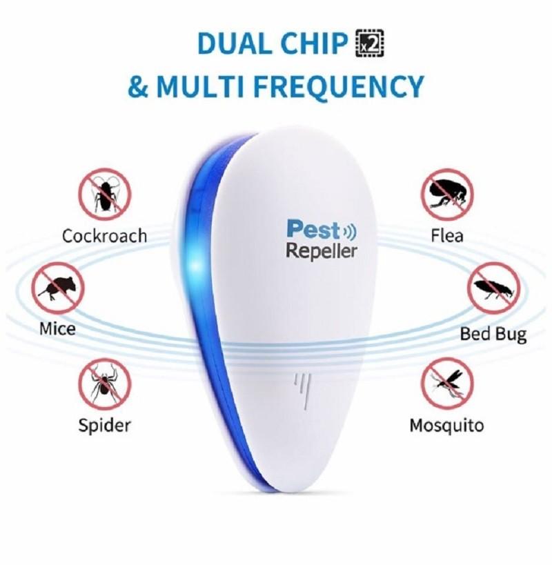 Máy đuổi côn trùng Pest Repeller vừa đuổi côn trùng vừa có thể sử dụng làm đèn ngủ