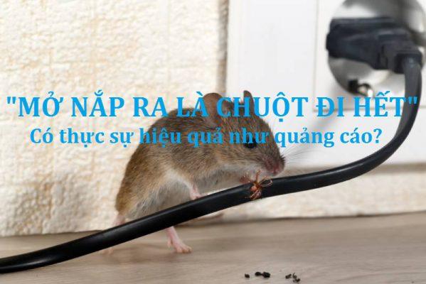 mở nắp ra là chuột đi hết