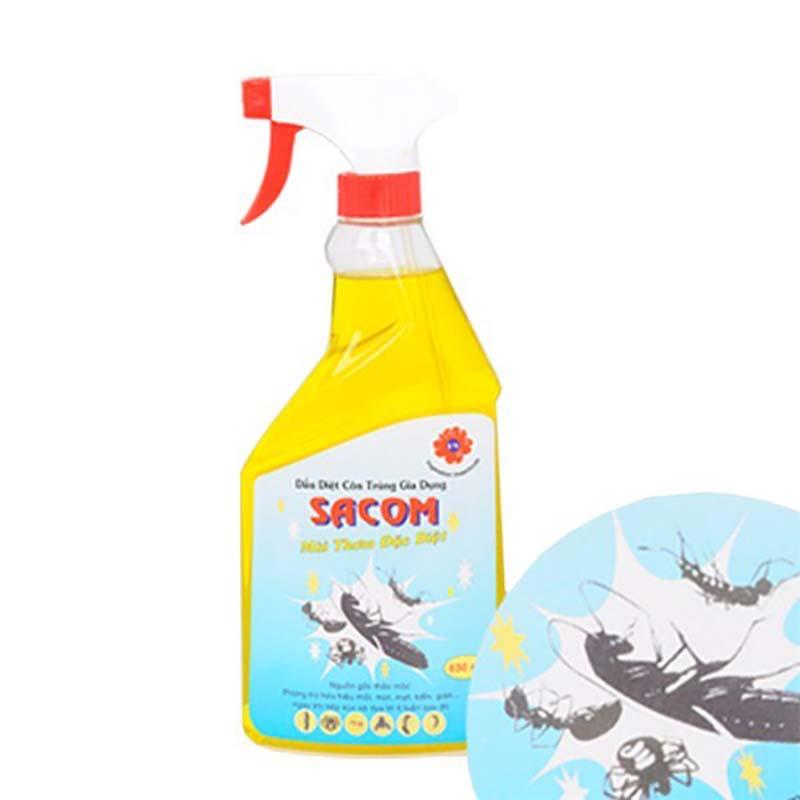 Dầu xịt kiến thảo mộc Sacom diệt kiến từ những thành phần thảo mộc an toàn