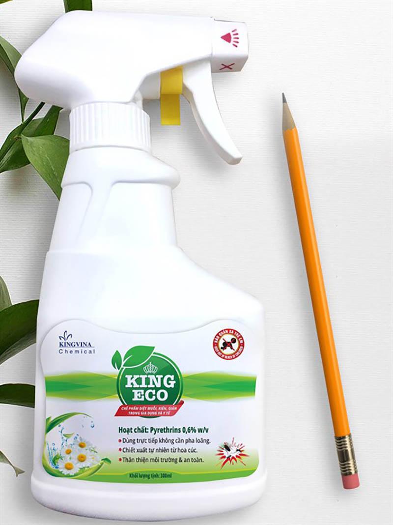 Bình xịt kiến King Eco chiết xuất từ hoa cúc an toàn và hiệu quả