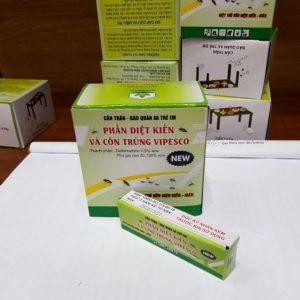 Phấn diệt kiến và côn trùng hộp ( 10 hộp nhỏ x 2 viên)
