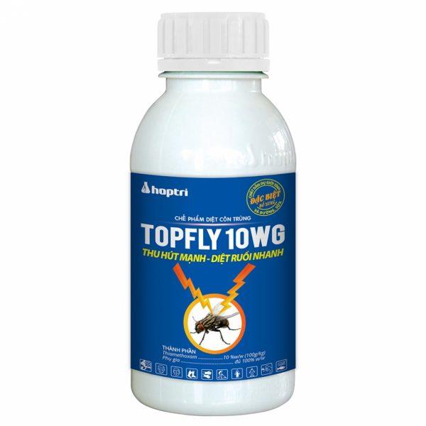 Thuốc diệt ruồi TOPFLY 10WG - chai 400g